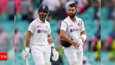 India vs Australia 3rd Test, Day 4: Australia dismiss set openers as India face uphill task in pursuit of 407   Cricket News - Times of India