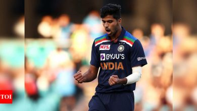 India vs Australia: Held back in Oz for nets, Washington Sundar may play Gabba Test; Jasprit Bumrah out | Cricket News - Times of India