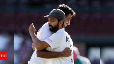 India vs Australia:  India vs Australia: Bruised India battle to earn a draw in Sydney Test | Cricket News - Times of India