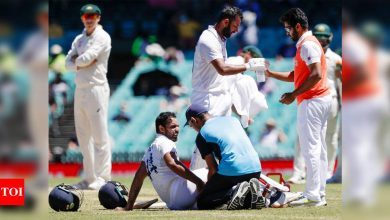 India vs Australia: Injured Vihari out of last Test, unlikely for England series; Shardul likely in place of Jadeja | Cricket News - Times of India