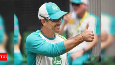 India vs Australia: Justin Langer lauds disciplined India; says efforts on to resolve Aussie batting woes | Cricket News - Times of India