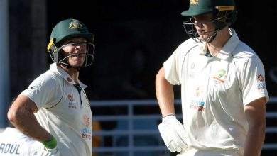 India vs Australia Live Score, 4th Test: India eye quick strikes on Day 2 : But at the moment, the left-arm rookie is pitching a slightly too further up, as Green (36*) drives him straight again for another boundary to end the over. Australia 282/5. Brisk start by the hosts. - The Times of India