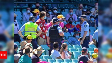India vs Australia: SCG probes alleged abuse of Indian fan by security guard | Cricket News - Times of India