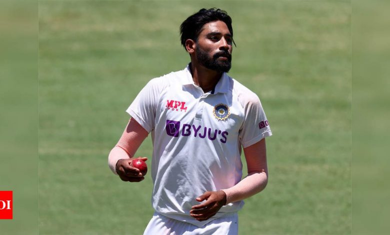 India vs Australia: Tendulkar decodes how Siraj excelled on day one at The Gabba   Cricket News - Times of India