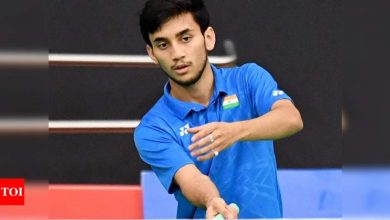 Injured shuttler Lakshya Sen pulls out of two Thailand events | Badminton News - Times of India