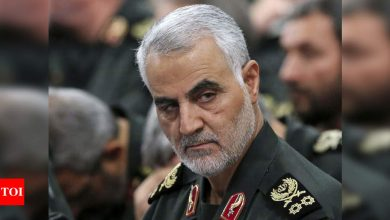 Iran commander vows 'resistance' a year after Soleimani killing - Times of India