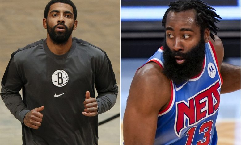 James Harden says Nets are 'going to be scary' when Kyrie Irving returns