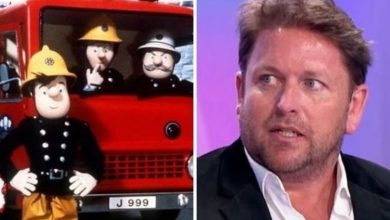 James Martin sparked bitter feud as he raged after Fireman Sam was axed: