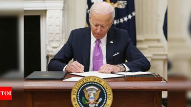 Joe Biden to sign order to increase pandemic-related food aid - Times of India