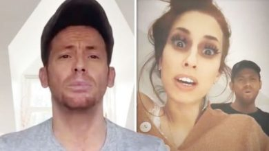 Joe Swash issues warning to Stacey Solomon after birthday error: 'That is it, we're over!'
