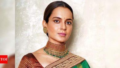 Kangana Ranaut hails the Covid-19 vaccination drive as she reacts to AIIMS director receiving the shot; says 'Wonderful' - Times of India