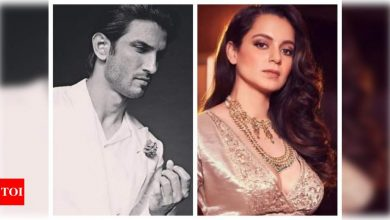 Kangana Ranaut pens note for 'Dear Sushant Singh Rajput' on birth anniversary; says 'I regret not being there for you' - Times of India