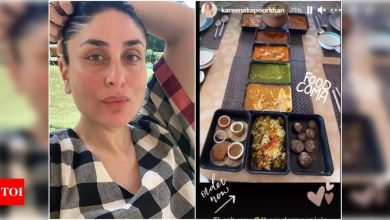 Kareena Kapoor Khan shares a photo of the lavish spread sent by her cousin Armaan Jain - Times of India