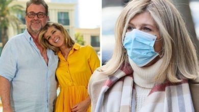 Kate Garraway says 'not sure I'm coping' as Derek takes 'two steps forward and three back'
