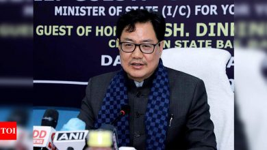 Kiren Rijiju urges corporates, PSUs to become stakeholders in India's sporting dream | More sports News - Times of India