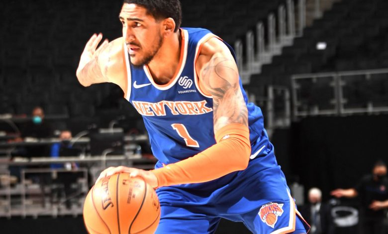 Knicks' Obi Toppin returns from injury with 57-second cameo
