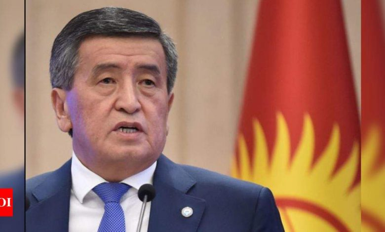 Kyrgyzstan's presidential vote: How did it get here? - Times of India
