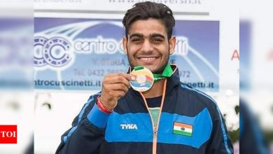 Lakshay sweeps men's trap trials; Sarabjot, Rhythm make it a Haryana double in air pistol | More sports News - Times of India