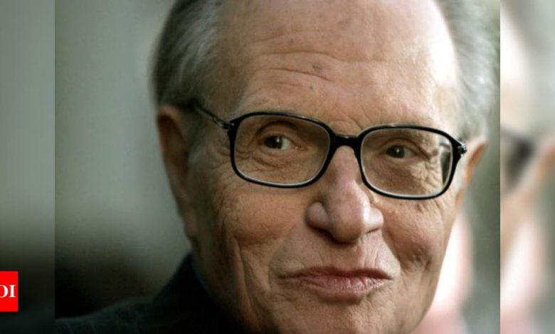 Larry King, broadcasting giant for half-century, dies at 87 - Times of India