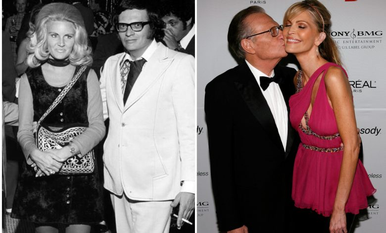 Larry King's magnificent seven — his ex-wives
