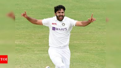 Last few days since I came back home were surreal: Shardul Thakur   Cricket News - Times of India