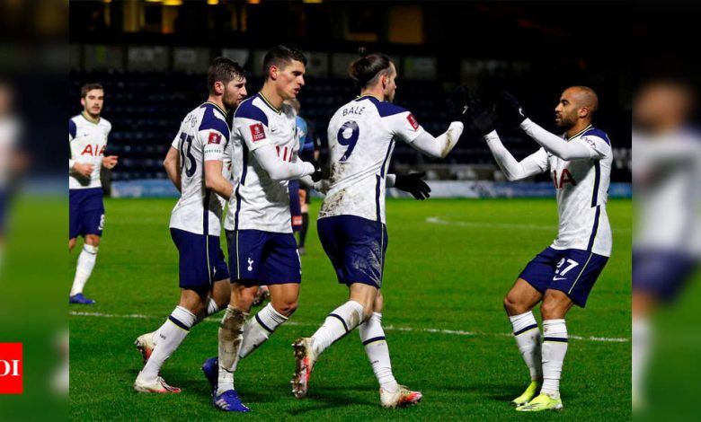 Late show sees Spurs past Wycombe and into FA Cup fifth round | Football News - Times of India