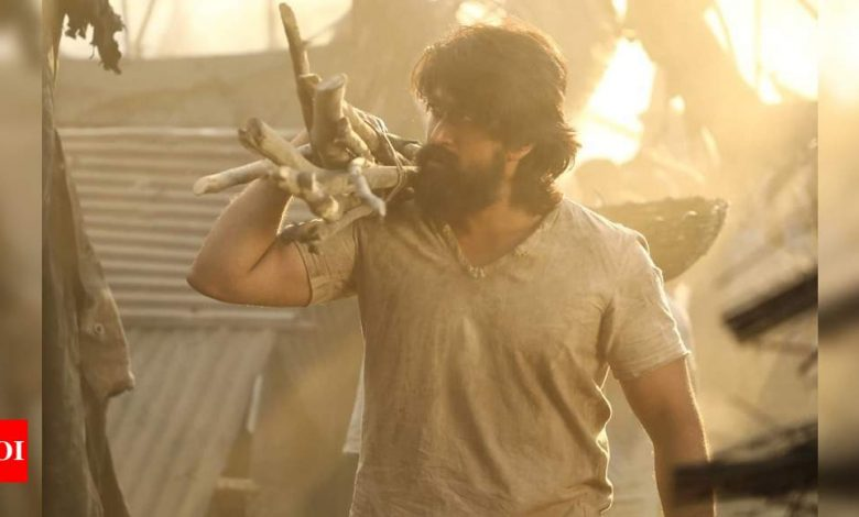 Leaked! KGF: Chapter 2 teaser released a day ahead of Yash's birthday - Times of India