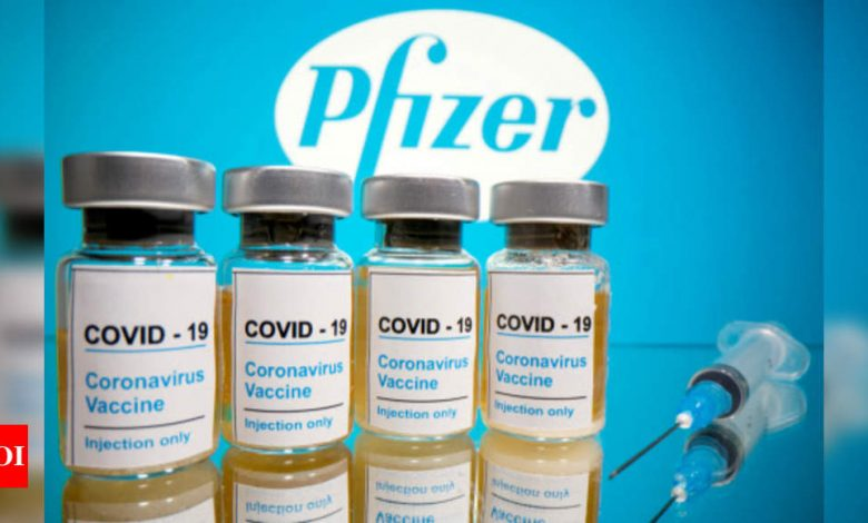 Lebanon signs with Pfizer for 2.1 million vaccine doses - Times of India