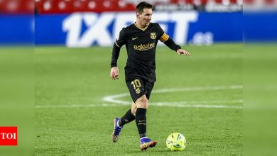 Lionel Messi doubtful as Barcelona play Bilbao in Super Cup final | Football News - Times of India