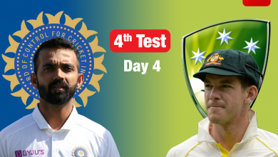 Live Cricket Score, India vs Australia, 4th Test: Australia eye big lead on Day 4 - The Times of India