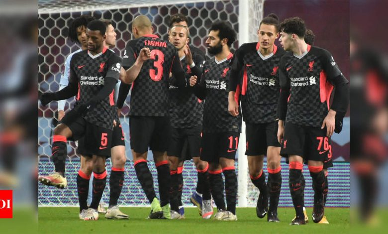Liverpool survive scare from virus-hit Aston Villa in FA Cup | Football News - Times of India