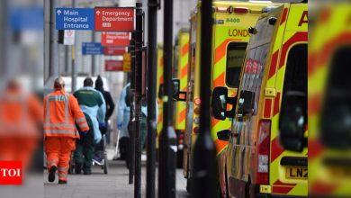 London Mayor declares major incident over Covid hospital pressure - Times of India