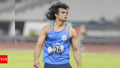 Looking to breach 90m-mark this year, Neeraj Chopra says he's working on technique and strength part, not on covering javelin distance | More sports News - Times of India