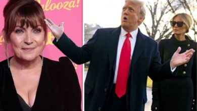 Lorraine Kelly's brutal dig at Trump after Biden's sworn in 'Grown ups back in charge'