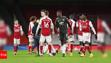 Manchester United held in stalemate at Arsenal | Football News - Times of India