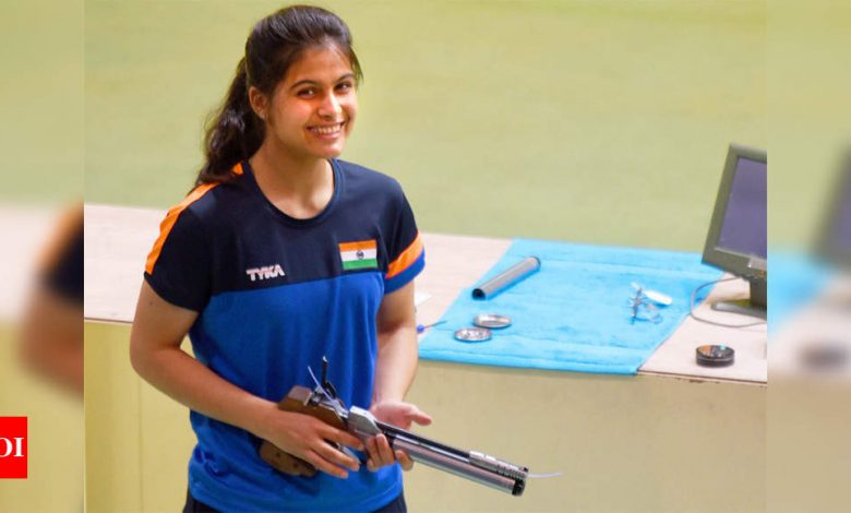 Manu Bhaker to practice in Bhopal ahead of selection trials at KSSR | More sports News - Times of India