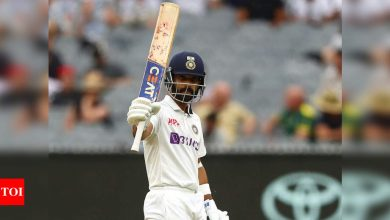 Melbourne century very special as it was crucial for series victory, says Ajinkya Rahane   Cricket News - Times of India