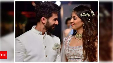 Mira Rajput credits hubby Shahid Kapoor for helping and supporting her through her pregnancies - Times of India
