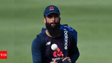 Moeen Ali back in England bubble after clearing COVID test | Cricket News - Times of India