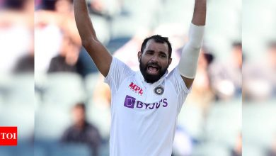 Mohammed Shami: When I was injured I was in tears; nothing can be compared to this win', says Mohammed Shami | Cricket News - Times of India