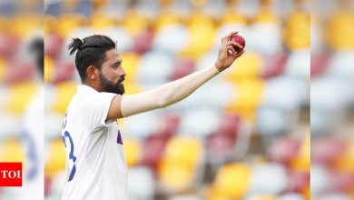 Mohammed Siraj:  Yes we defeated Australia in Australia; really proud that I took a five-for, it's a tribute to my father: Mohammed Siraj | Cricket News - Times of India