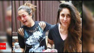 Mom-to-be Kareena Kapoor Khan pens a heartfelt birthday note for her 'soul sista' and BFF Amrita Arora; says 'I have your back till eternity' - Times of India