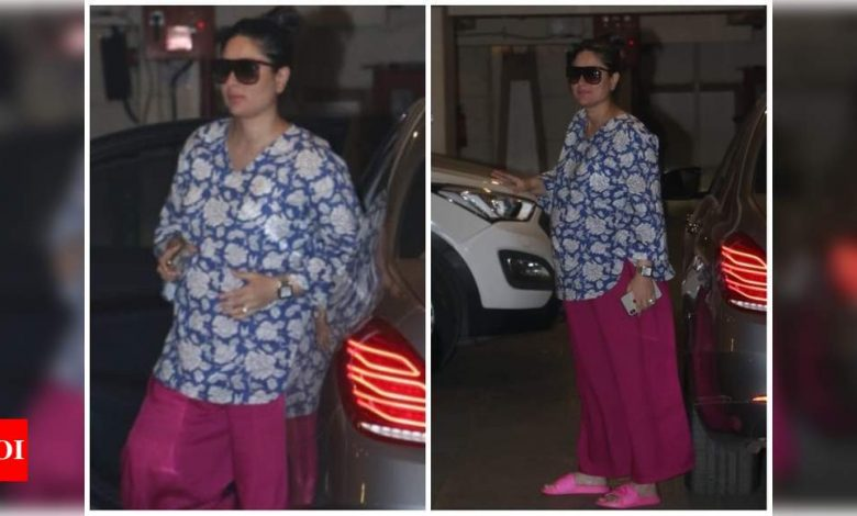Mom-to-be Kareena Kapoor Khan steps out in a stylish yet comfy outfit - view photos - Times of India