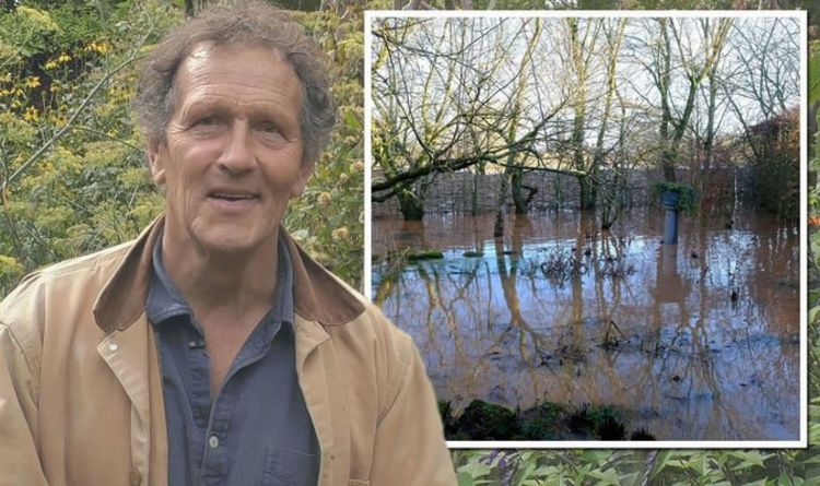 Monty Don gives garden update after sharing 'daunting' pictures of it flooded