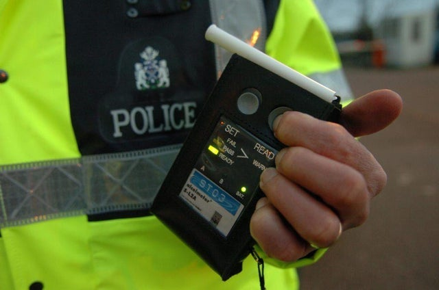 More than 500 motorists in Scotland were reported for drink and drug-driving offences during the festive period.