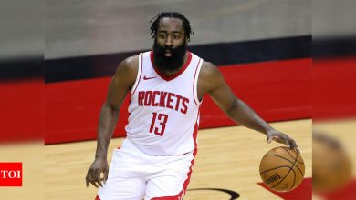 NBA: Houston Rockets trade frustrated James Harden to Brooklyn Nets | More sports News - Times of India