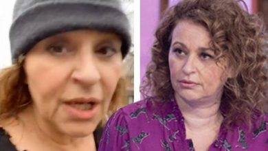 Nadia Sawalha: ITV host shares health worries after someone 'breathed in her face'