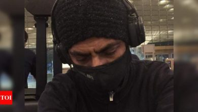 Nawazuddin Siddiqui flys to London for 'Sangeen' shoot; says 'the show must go on' - Times of India