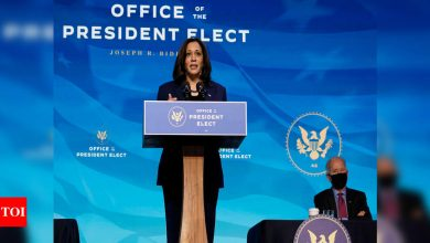 Need to build back US economy better so that it lifts up everyone: Kamala Harris - Times of India