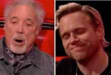 Olly Murs: The Voice UK star in tears over heartfelt Sir Tom Jones gesture 'Crying here'